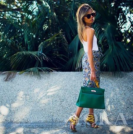 《Harper''s Bazaa》特约时装编辑 Erica Pelosini