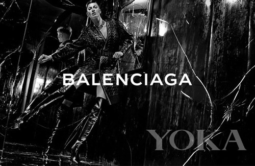 吉赛尔・邦辰拍摄Balanciaga大片