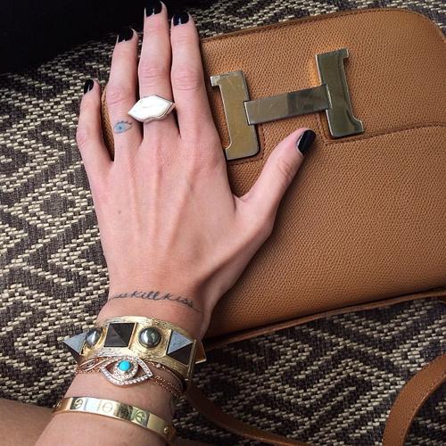 instagram上的那些别致的手镯们