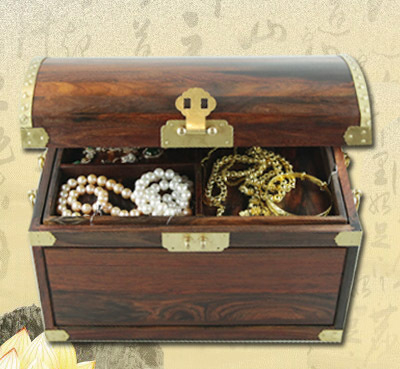 【幸福圆满】古韵柳钉珠宝箱