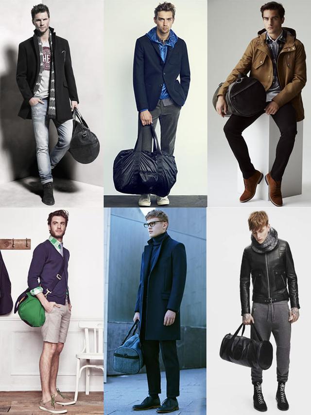 谁说包包是女人的特权 知道背包男生有多帅嘛