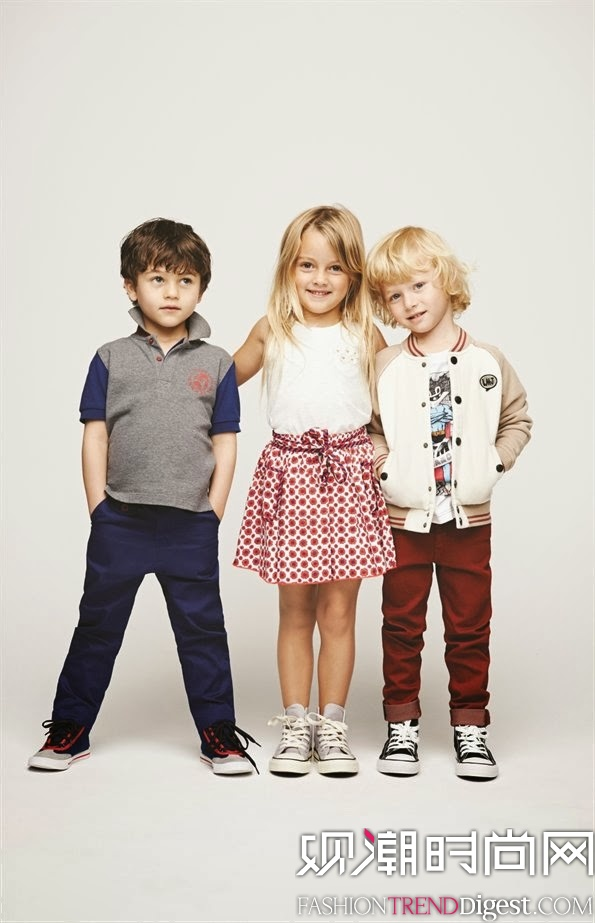 Marc Jacobs 2014春夏童装广告高清图片