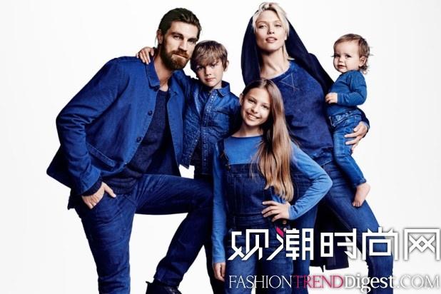 H&M 2014 Conscious Denim系列广告大片高清图片