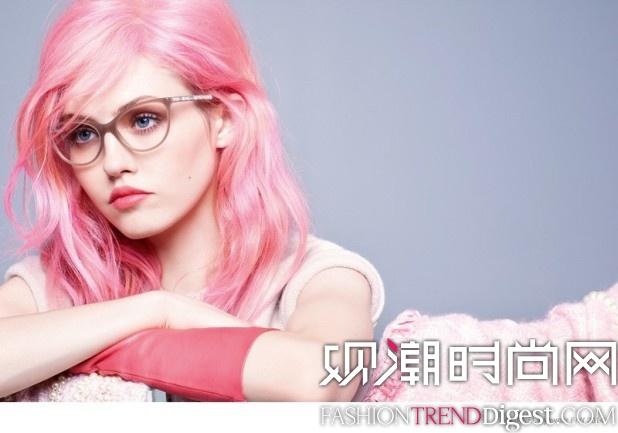 Chanel 2014秋冬系列眼镜广告高清图片