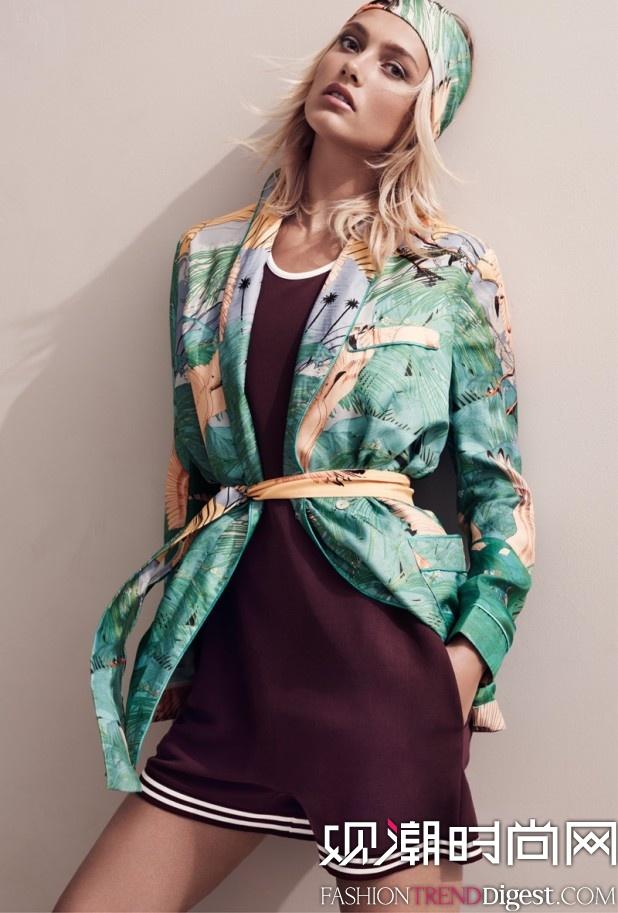 H&M 2015春季系列Lookbook高清图片