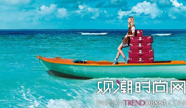 "Louis Vuitton 2015春夏""SPIRIT OF TRAVEL""系列广告高清图片"
