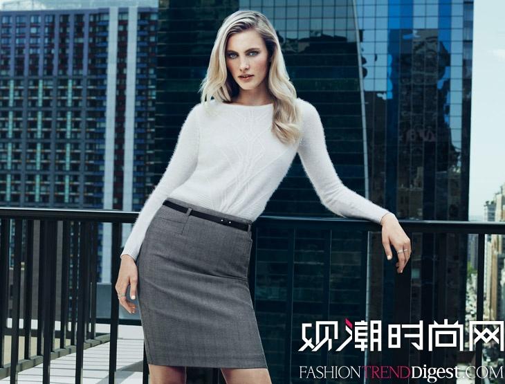Emily Baker为H&M拍摄广告高清图片