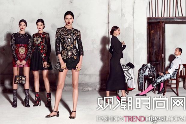 Dolce & Gabbana 2015春夏系列广告高清图片