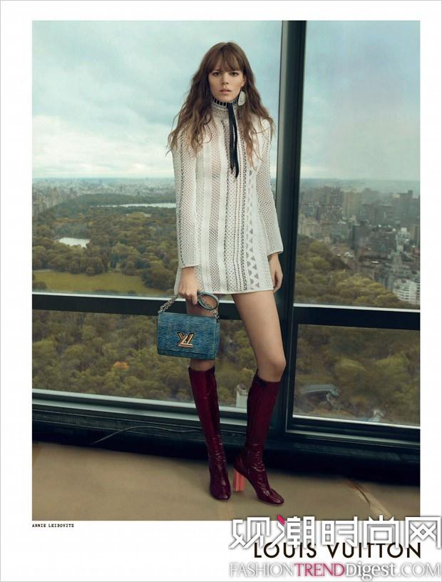 Louis Vuitton 2015春夏系列广告高清图片