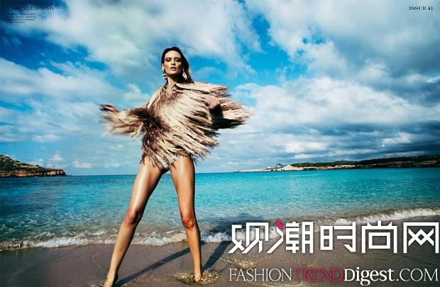 Jelena Kovacic为《Tantalum》杂志拍摄封面及内页大片高清图片
