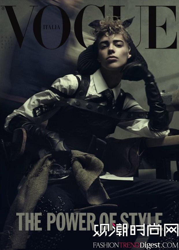 Lexi Boling登上意大利版《VOGUE》封面高清图片