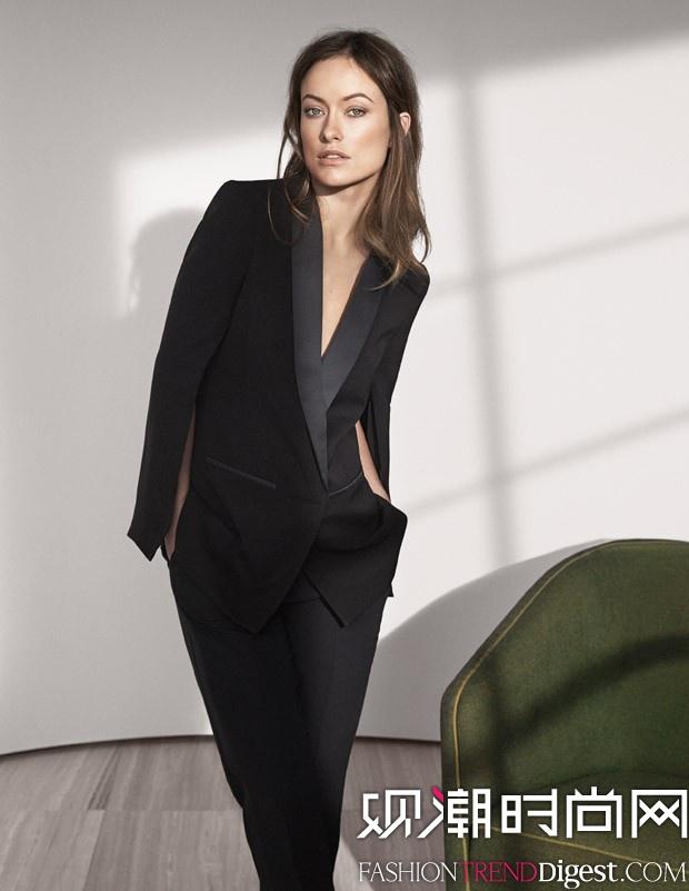 """Olivia Wilde出镜演绎H&M 2015春夏""""Conscious Exclusive""""系列高清图片"""