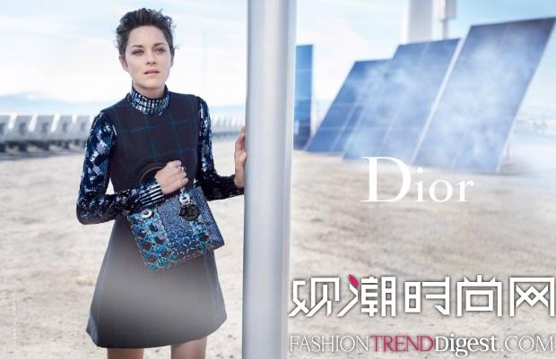 Marion Cotillard继续代言Lady Dior 最新手袋广告高清图片