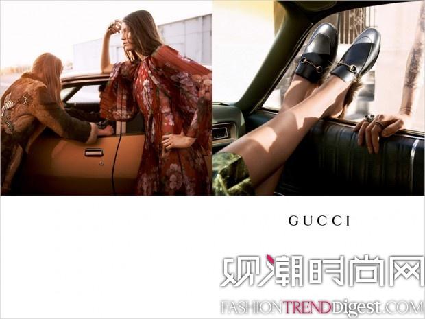 Gucci 2015秋冬系列广告高清图片