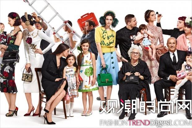 Dolce & Gabbana 2015秋冬广告高清图片
