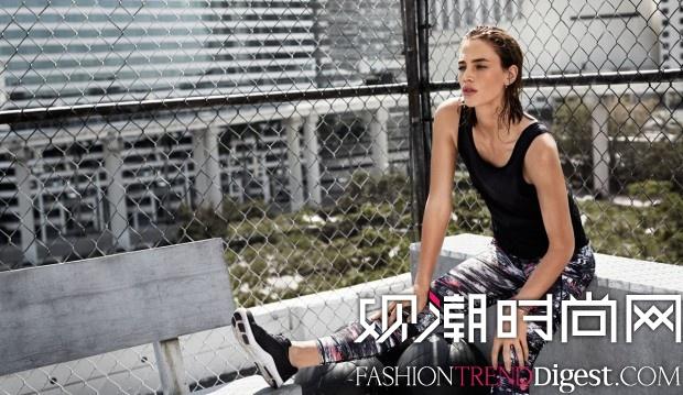Crista Cober代言H&M Sport 2015秋冬广告高清图片