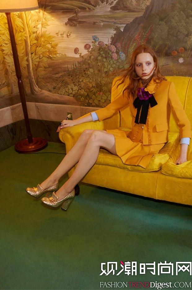 Gucci 2016度假系列广告大片高清图片