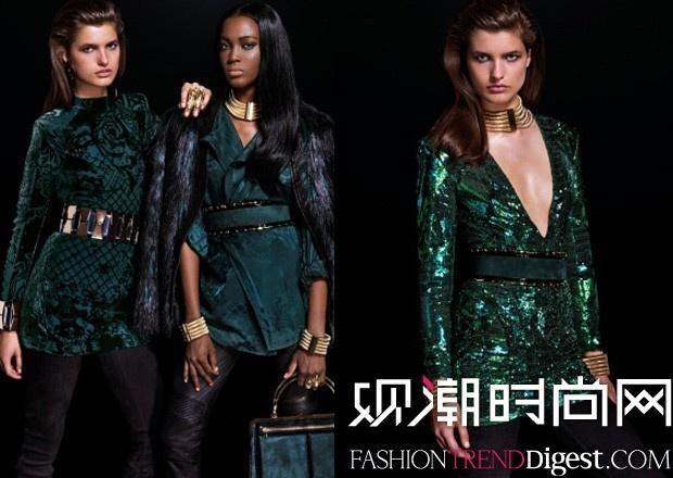 Balmain x H&M最新女装系列looklook高清图片