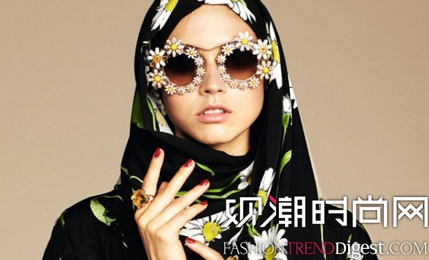 Dolce & Gabbana×Abaya Collection LookBook高清�D片