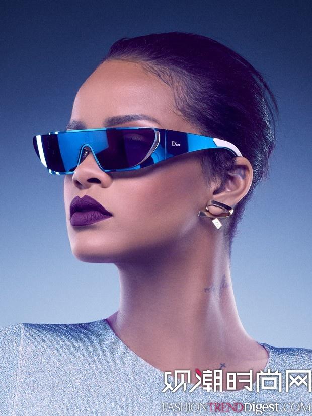 Dior x Rihanna Eyewear 广告大片高清图片