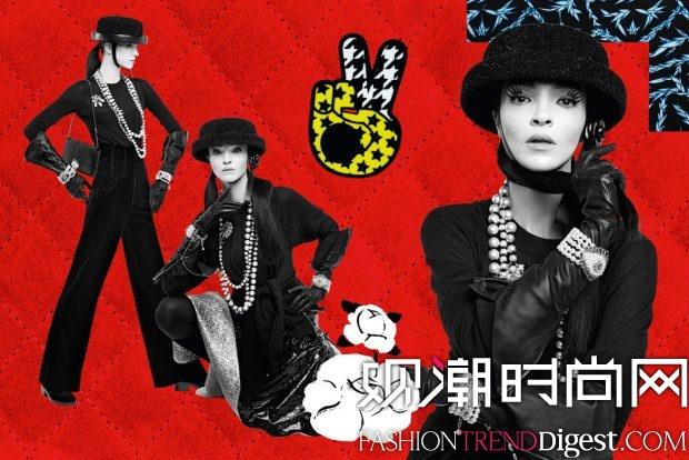 Chanel 2016秋冬系列广告大片高清图片