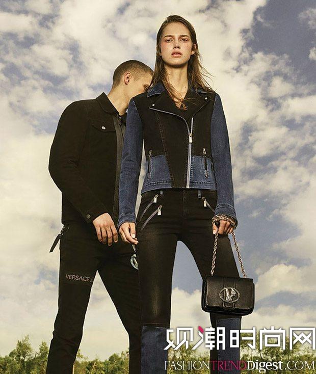 Julia Jamin演绎Versace Jeans FW16大片高清图片