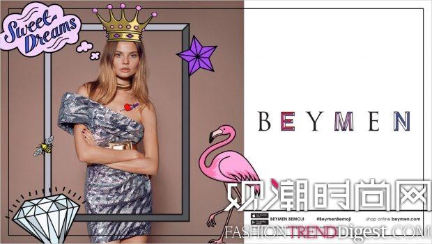 超模Magdalena Frackowiak为Beymen 2016年秋冬系列演绎时装大片高清图片