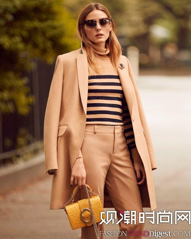 时尚偶像Olivia Palermo成为Banana Republic新面孔高清图片