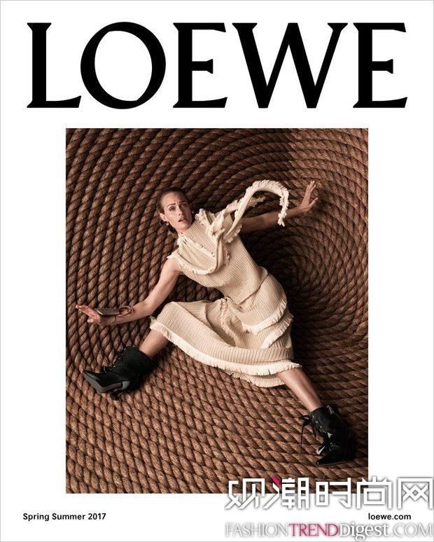 Loewe 2017春夏系列广告大片高清图片