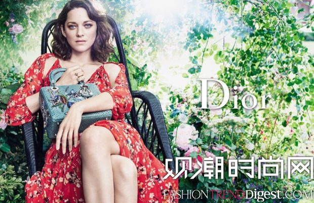 Marion Cotillard演绎 Lady Dior2016秋冬系列广告大片高清图片