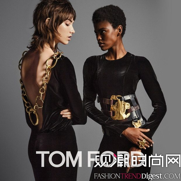 Tom Ford 2016秋冬女装系列广告大片高清图片