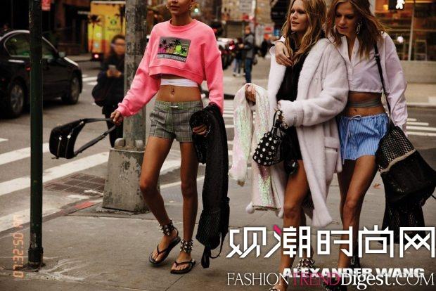 Alexander Wang 2017年最新系列广告大片高清图片