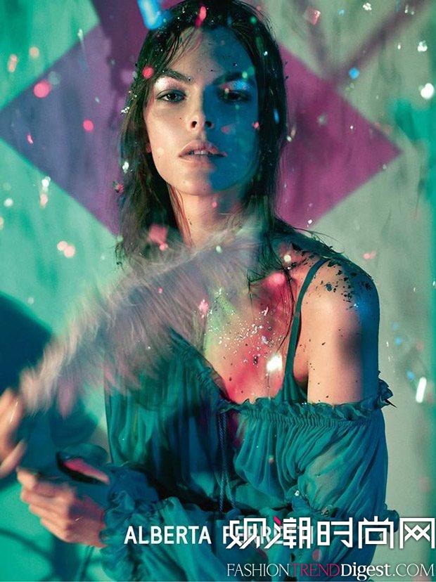 Alberta Ferretti 2017春夏系列广告高清图片