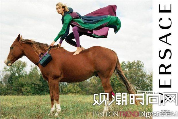 Versace 2017春夏系列广告高清图片
