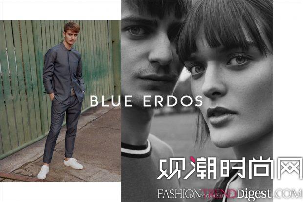 Blue Erdos 2017最新系列广告高清图片