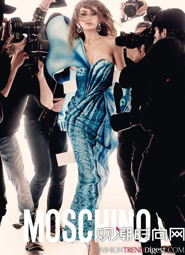 Moschino 2017最新系列广告高清图片
