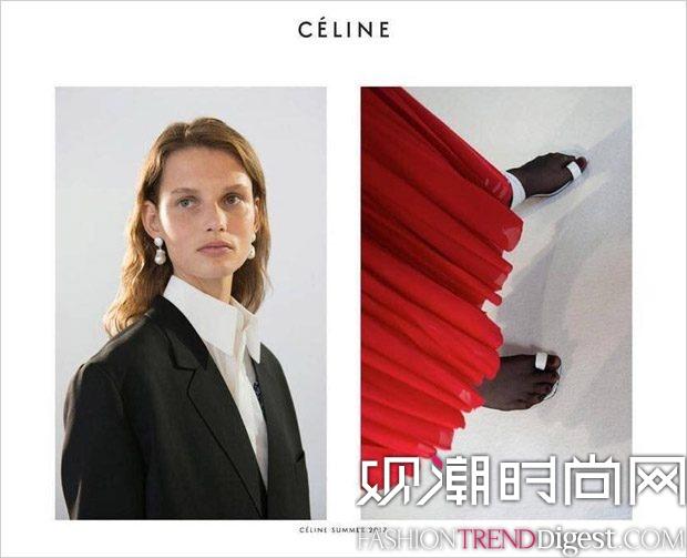 Celine 2017春夏系列广告大片高清图片