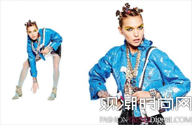 Chanel 2017春夏系列广告大片高清图片