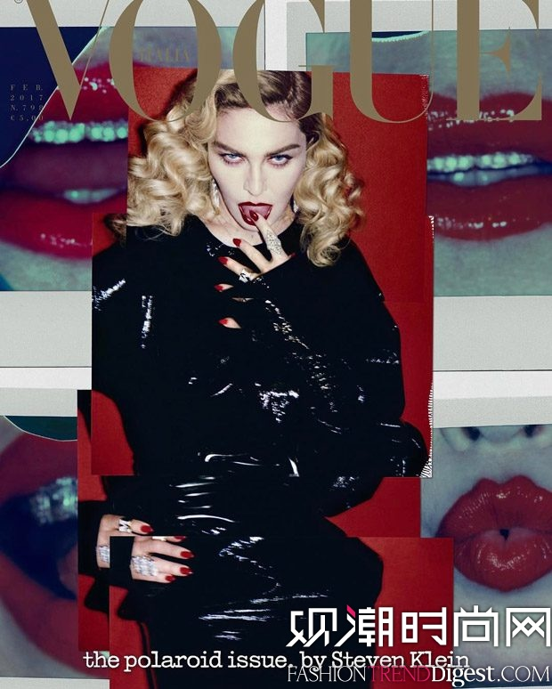 Madonna演绎意大利版《VOGUE》2017年2月杂志封面高清图片