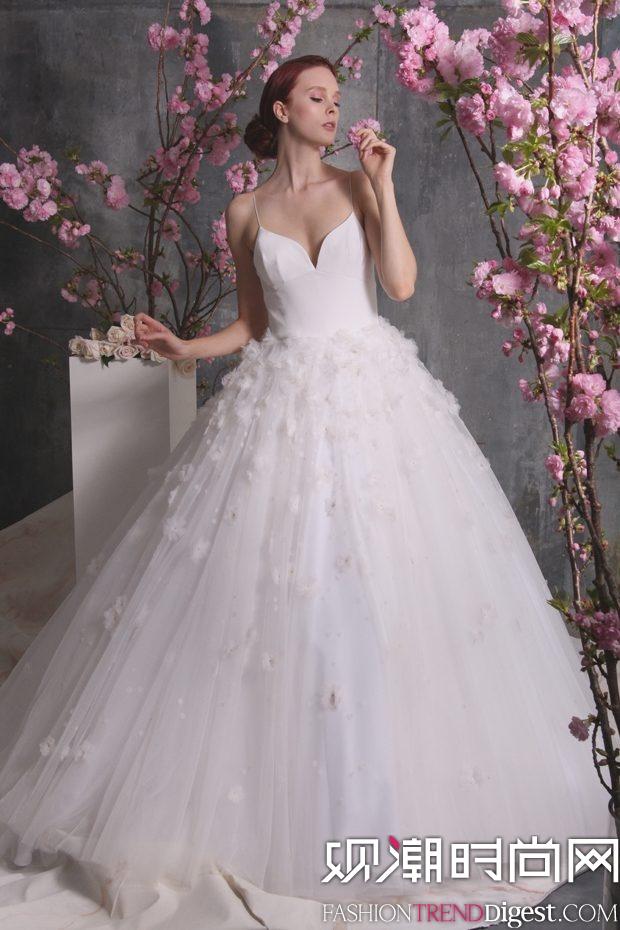 Christian Siriano 2018婚纱系列LookBook高清图片