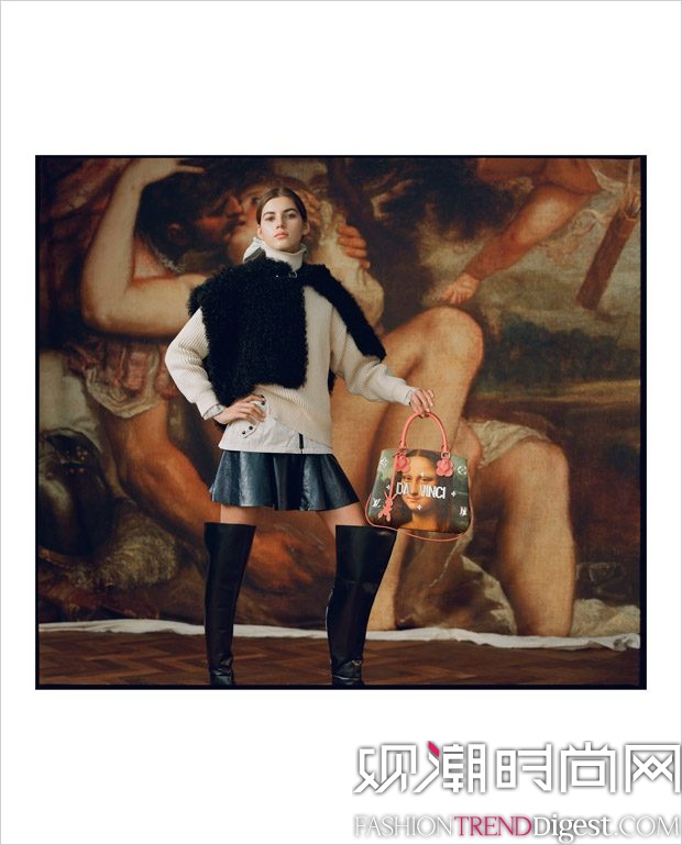 Louis Vuitton x Jeff Koons 2017最新LookBook高清图片