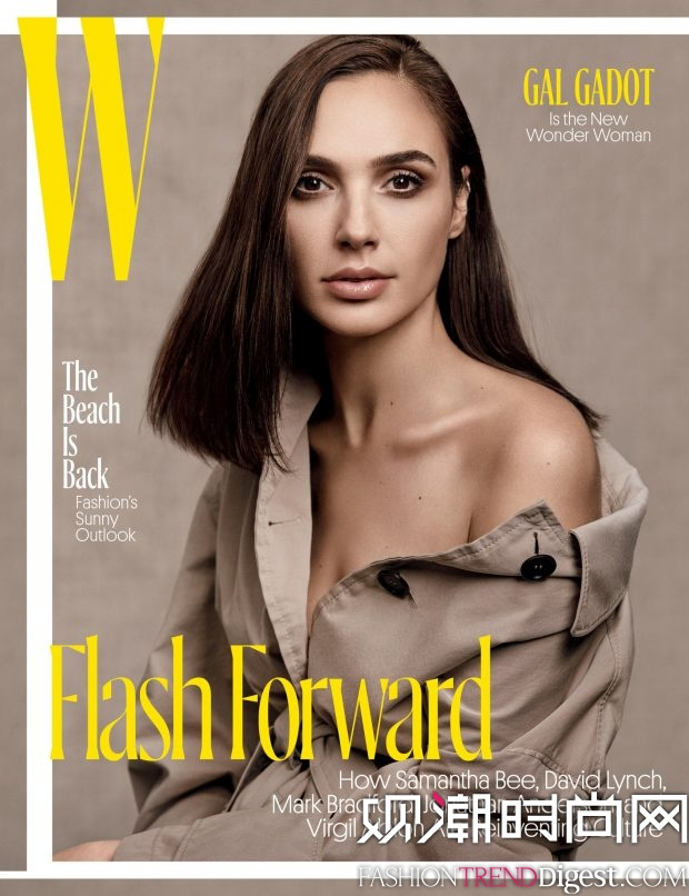 Gal Gadot演绎《W Magazine》2017年5月杂志封面高清图片