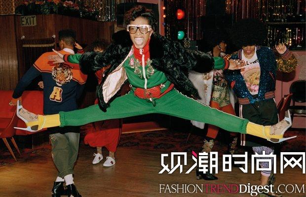 Gucci 2017早秋系列广告大片高清图片