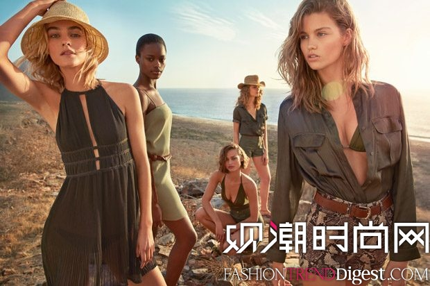 H&M 2017春夏女装系列LookBook高清图片