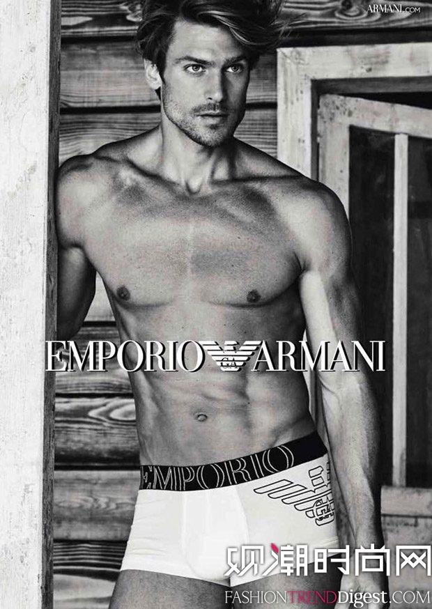 Emporio Armani Underwear 2017春夏系列广告大片高清图片
