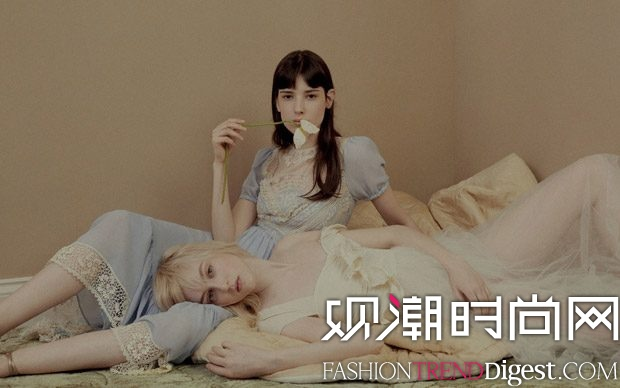 Red Valentino 2017早秋系列广告大片高清图片