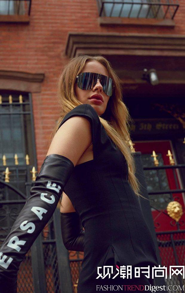 Versace 2017春夏眼镜系列广告大片高清图片