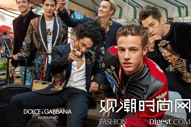Dolce & Gabbana 2017秋冬系列广告大片高清图片