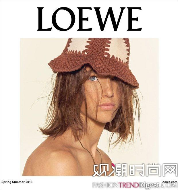 Oliver Sonne成为Loewe 2018春夏系列广告新面孔高清图片