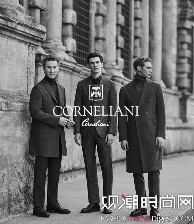 Corneliani 2017秋冬系列广告大片高清图片